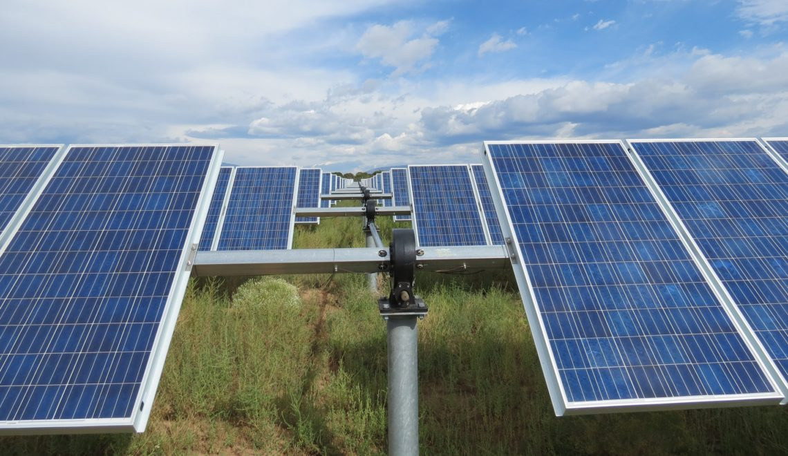 Solar module tracking systems