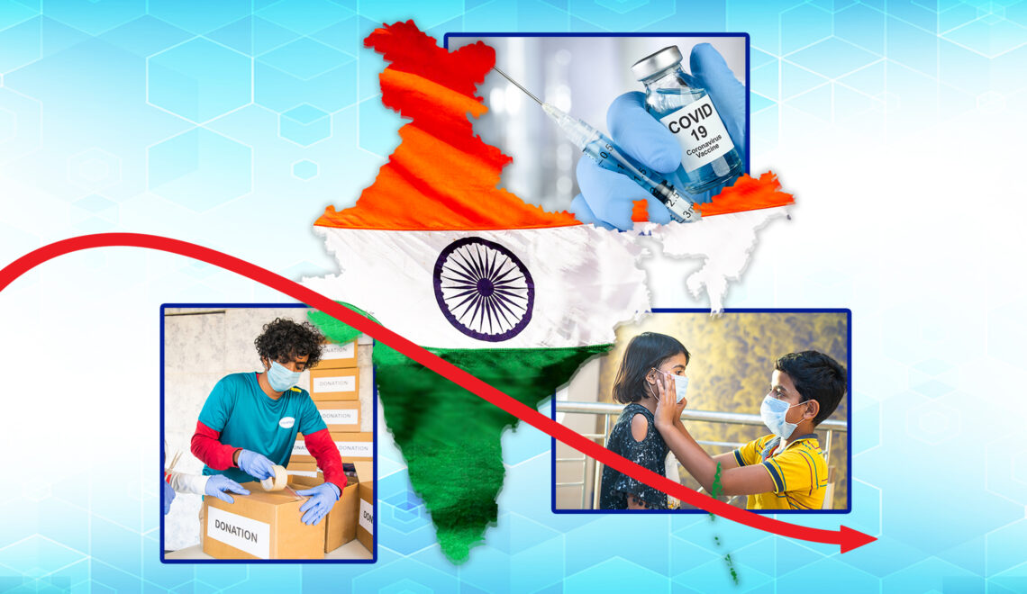 Social Responsibility towards Saving Lives: How India Sailed Together through the Stormy Second Wave