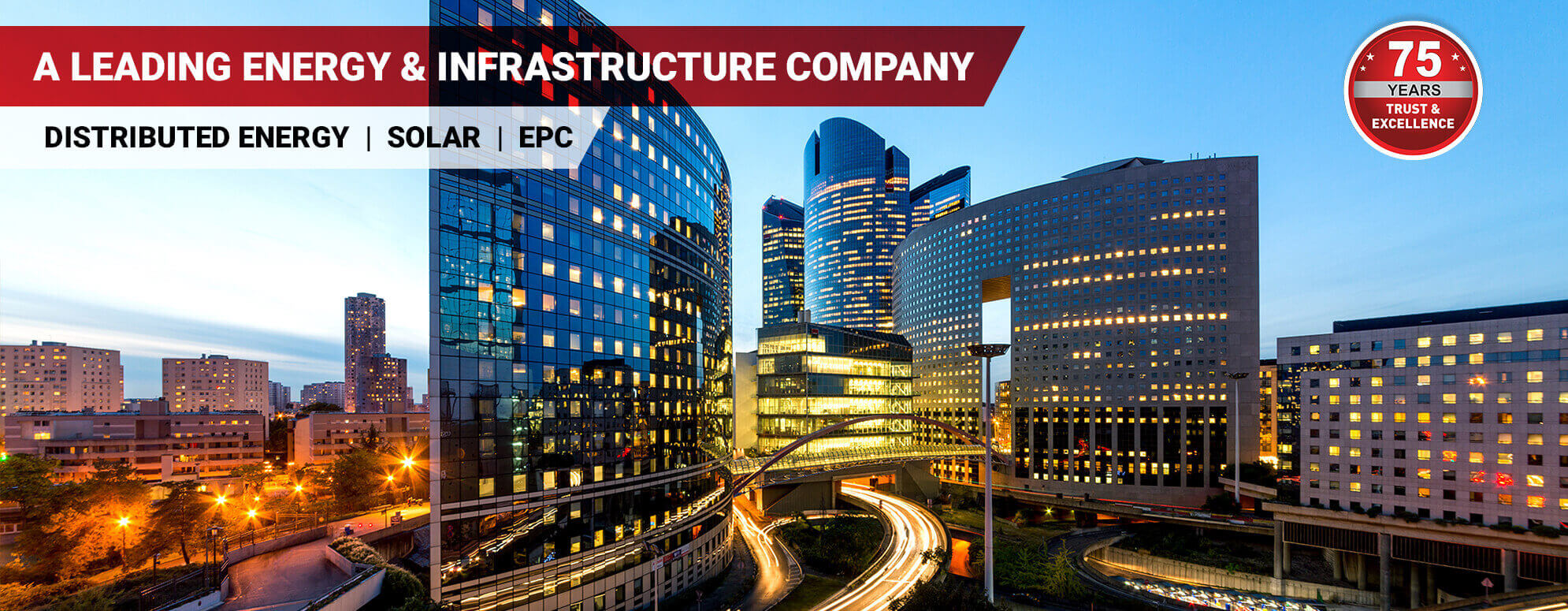 Corporate Banner -  ENERGY & INFRASTRUCTURE