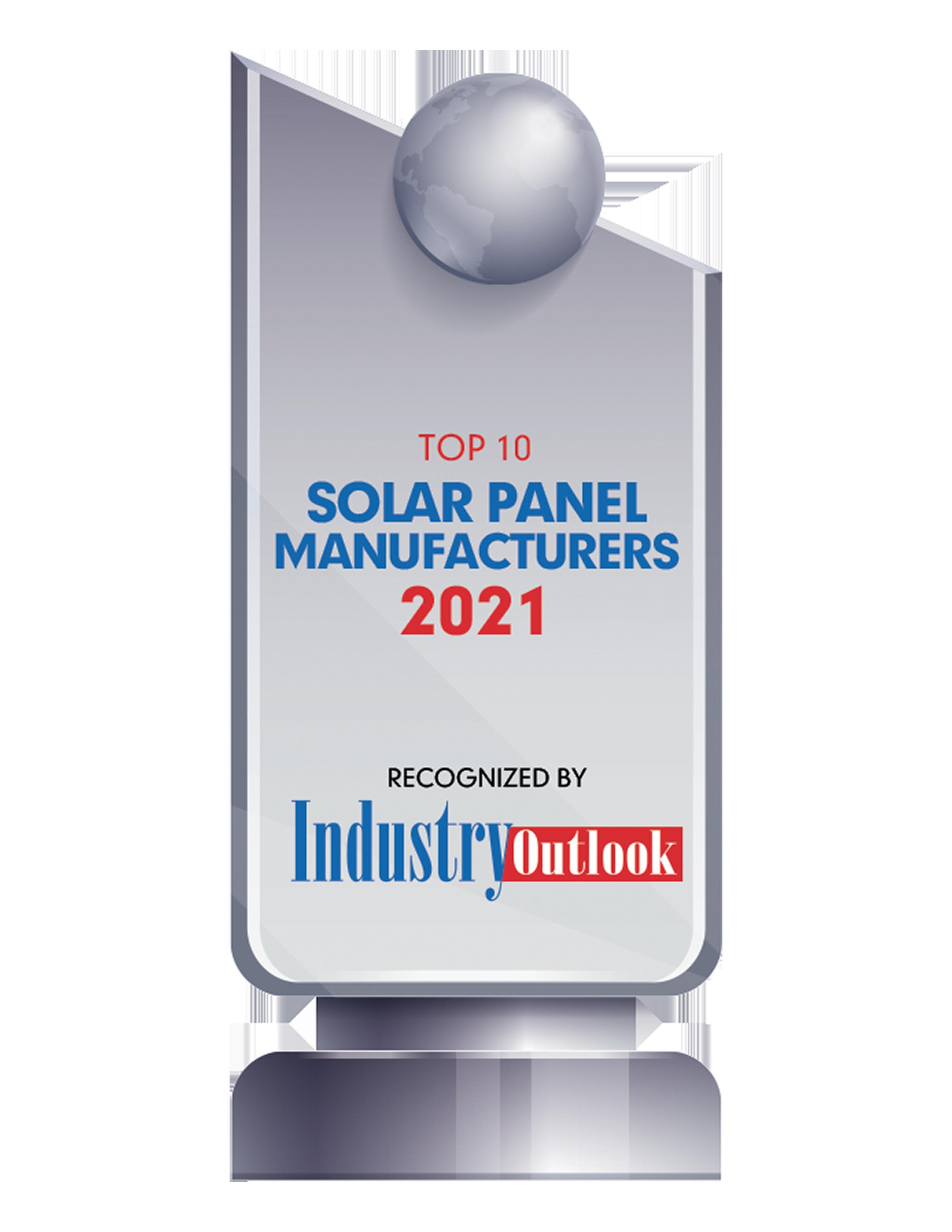 Top 10 Solar Panel Manufacturers 2021