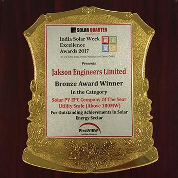 Solar PV EPC Company of the Year Award