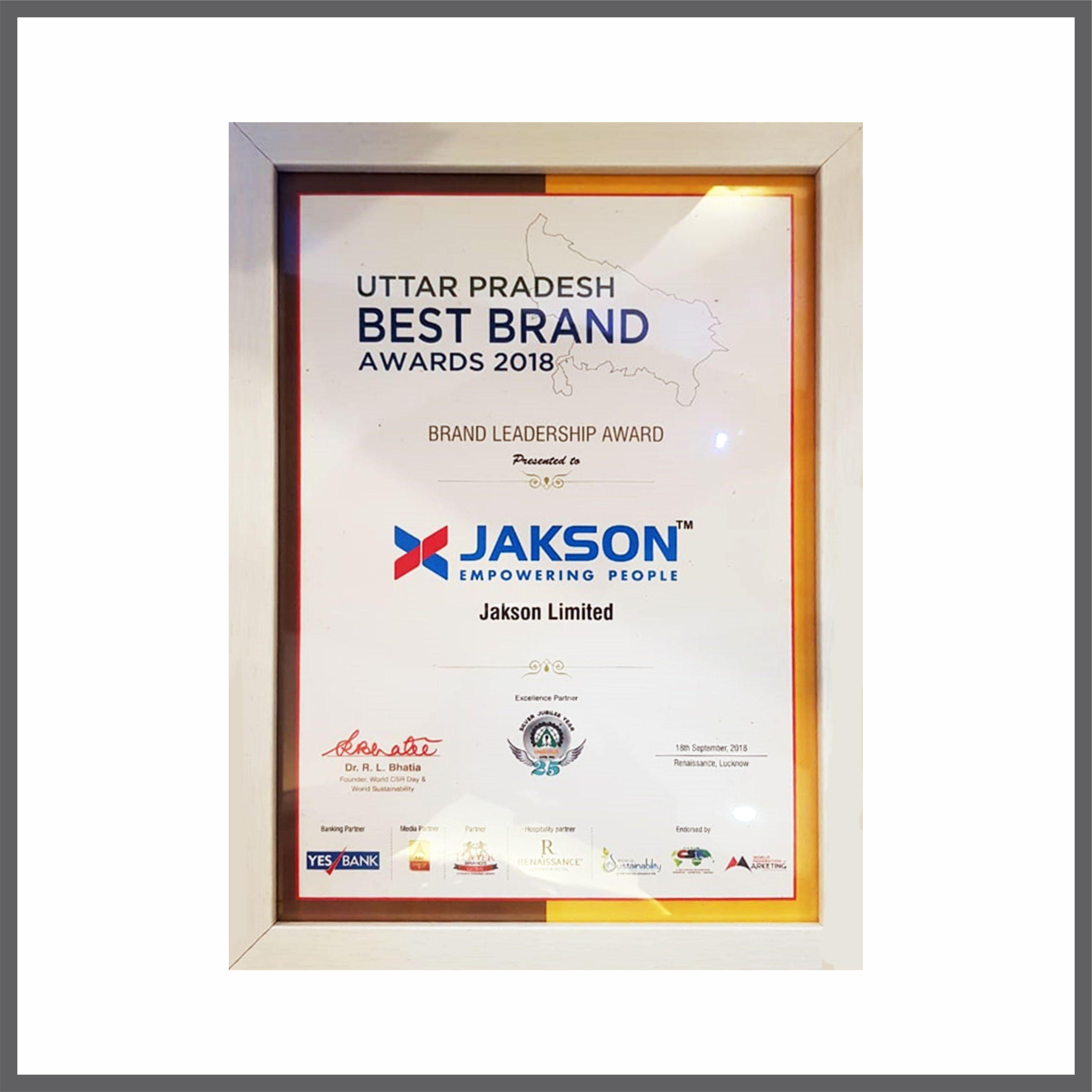 Brand Leadership Award