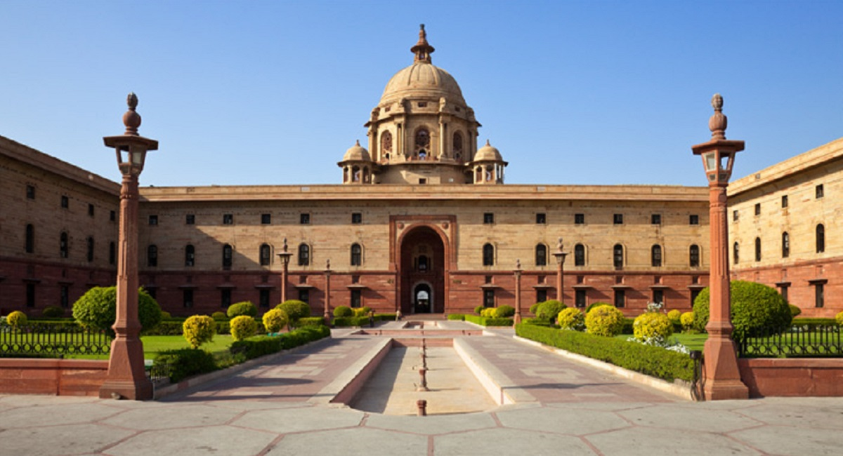 Grid connected rooftop solar power plant at President's Estate (Rashtrapati Bhawan)