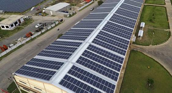 1 MW Rooftop Plant at an Industrial Tin-Shed Structure in Haryana