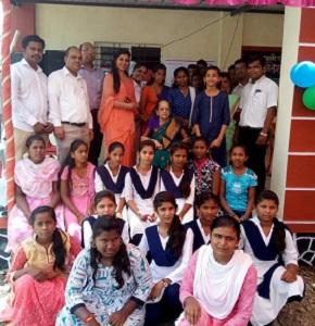 Jakson Supports New English High School in Phaltan, Maharashtra