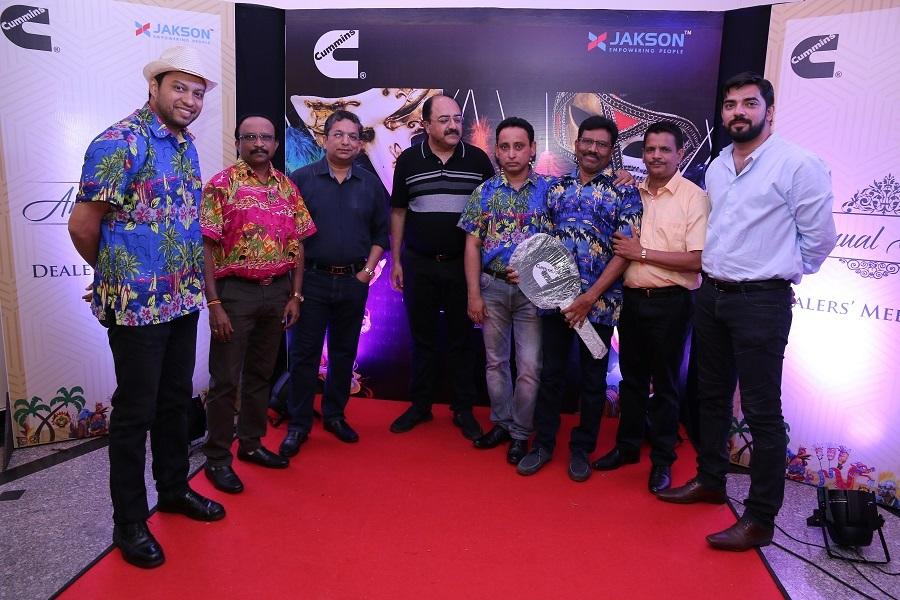 Jakson Cummins, Annual Dealer Meet, Goa-2018