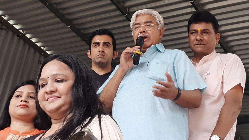 Curtain raiser - Waste Segregation project at Anand Vihar, New Delhi