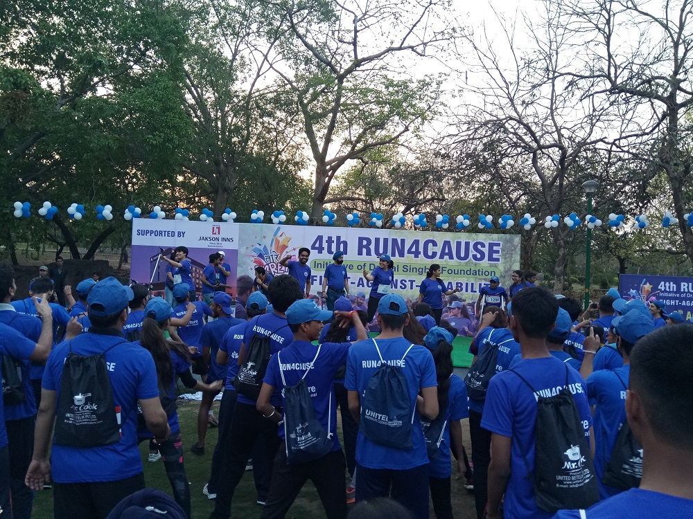 Jakson Supported Run for Couse, Fight-Against-Disability