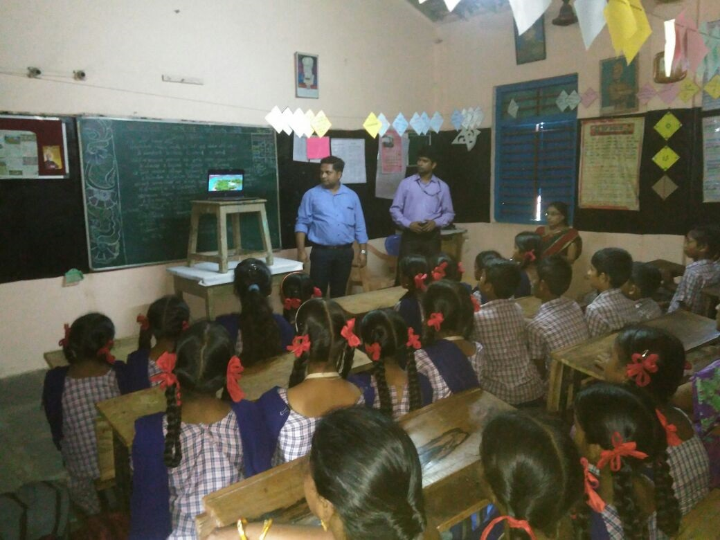Environmental Awareness Sessions in Schools 2017