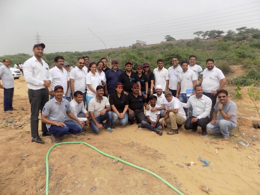 Jakson initiates environment conservation project in Aravalli Hills
