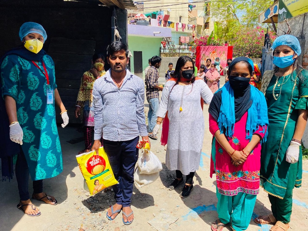 Jakson Donates Essential Food Items amidst The Covid-19 Pandemic- Noida, UP