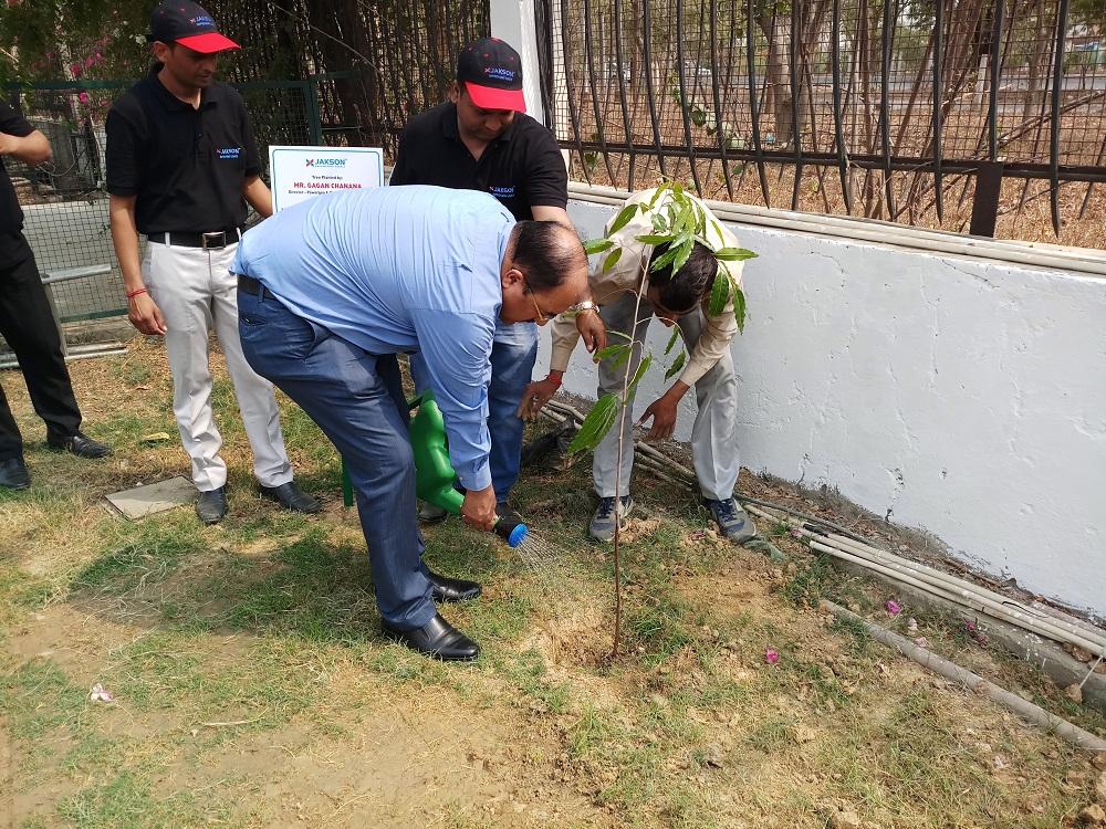 Tree Plantation Activity - World Environment Day-2018