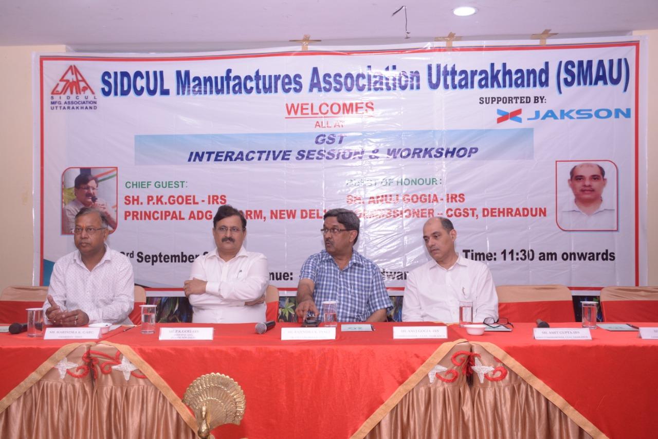 Sidcul Manufactures Association Meet-2019