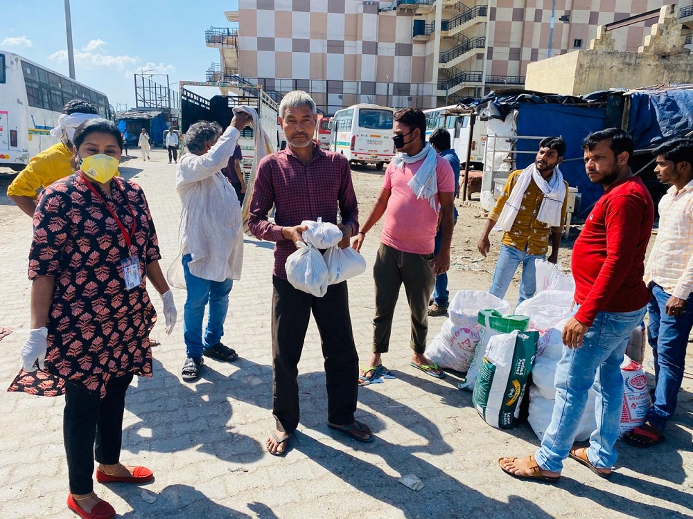 Jakson Donates Essential Food Items amidst The Covid-19 Pandemic- Ghaziabad, UP