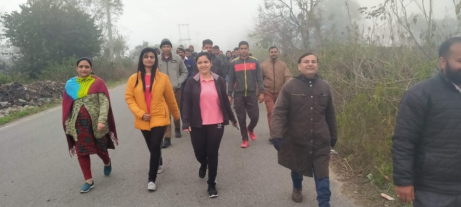 National Cleanliness Day, Walkathon-2020