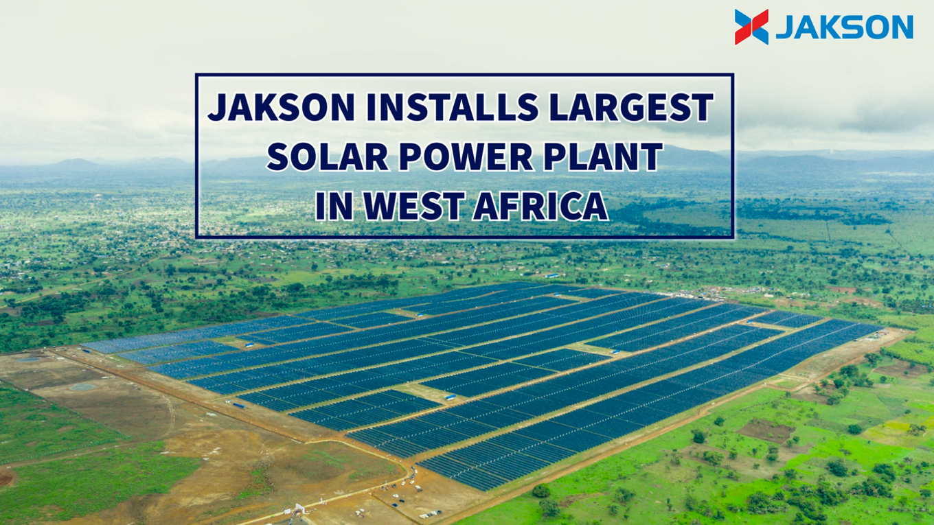 Jakson Group commissions 50 MW solar power plant in Togo, Africa