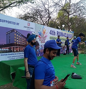 Jakson Supported Run for Cause, Fight-Against Disability - Apr 2018