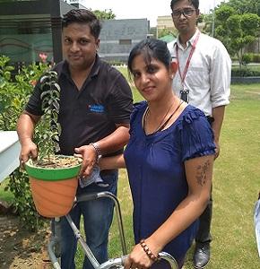 Tree Plantation Activity - World Environment Day- Jun 2018